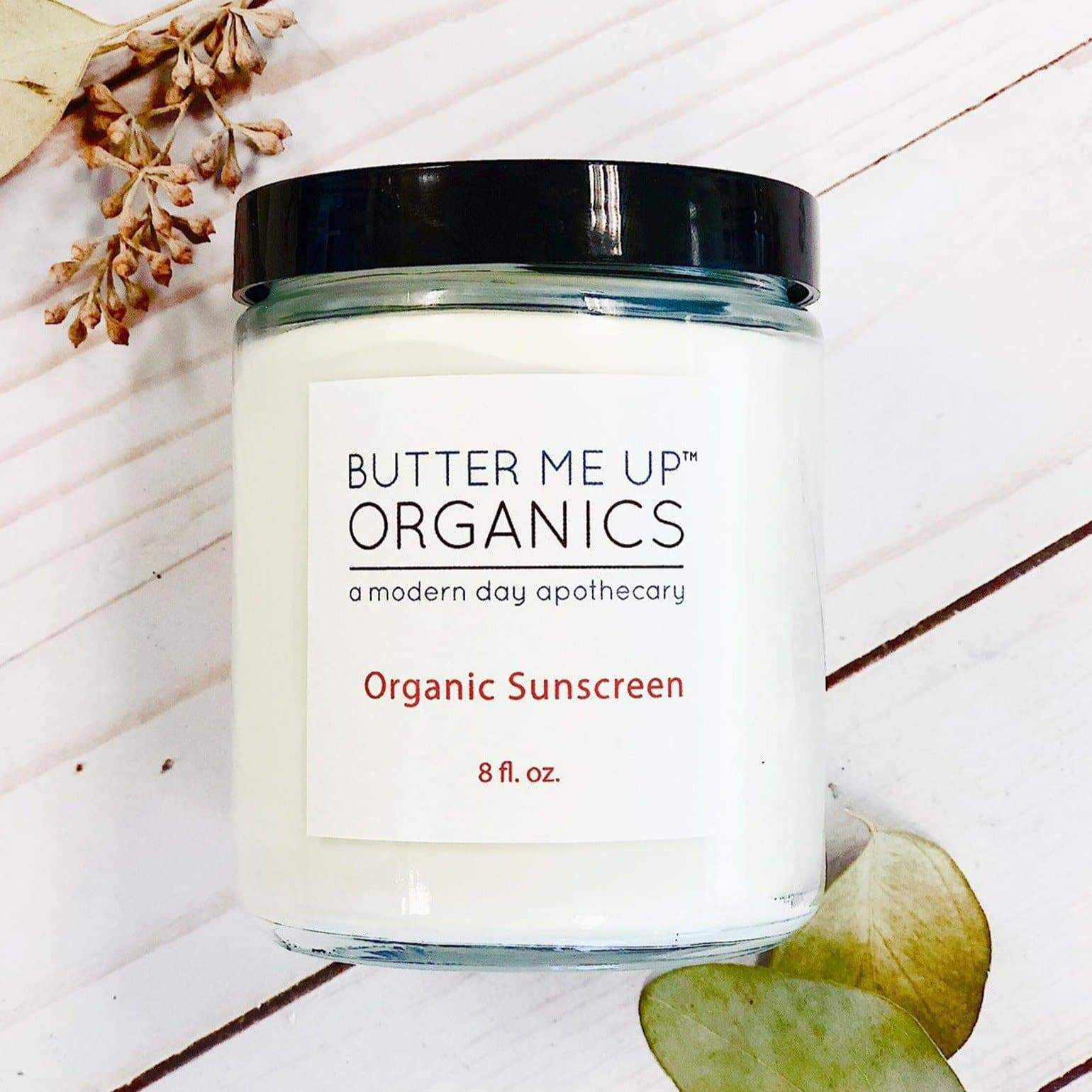 Natural organic sunscreen
