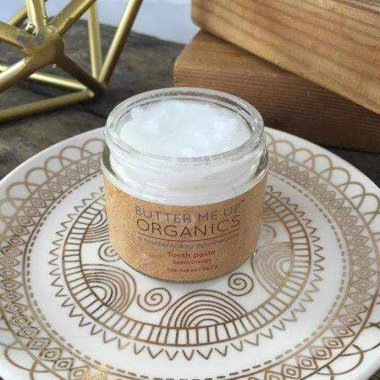 All Natural Organic Whitening Toothpaste
