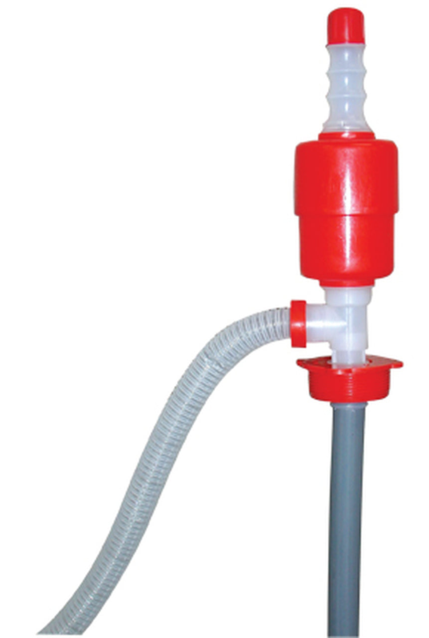 DRUM SIPHON PUMP FOR 15 GALLON OR 55 GALLON BARREL