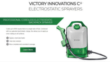 Load image into Gallery viewer, VICTORY BACKPACK ELECTROSTATIC SPRAYER