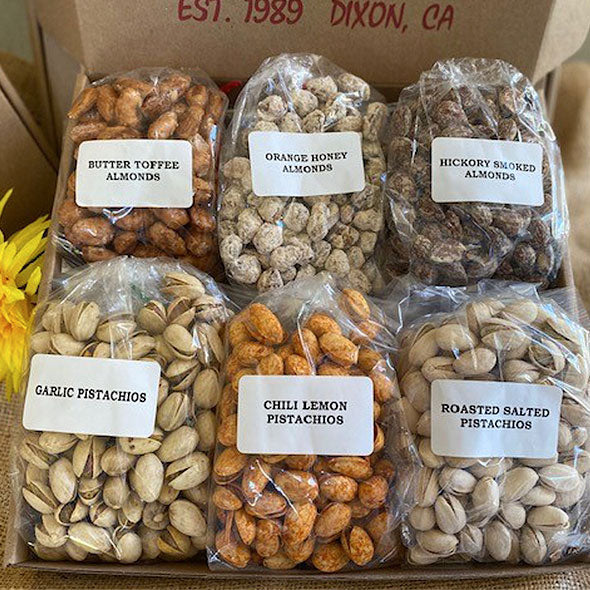 Box 6 - Sweet & Savory Nut Mix