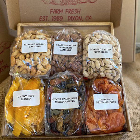 Box 7 – Salty & Sweet, Nut & Dried Fruit Mix