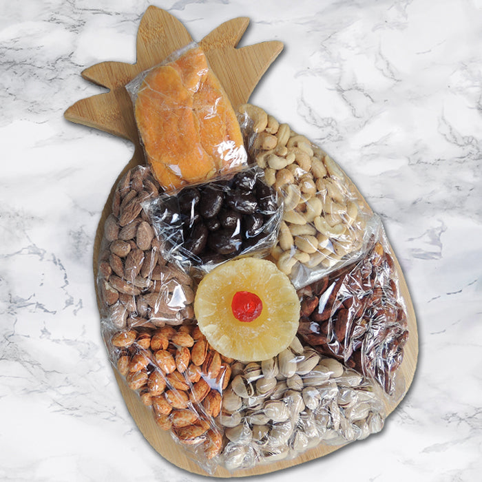 Pedrick Produce Pineapple Cutting Board with Nuts