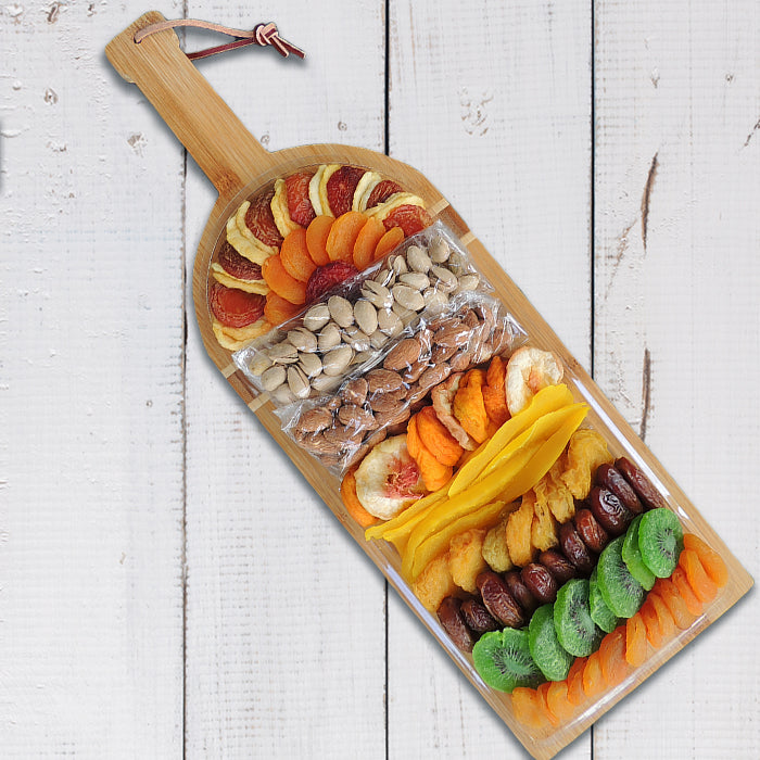 Pedrick Produce Wine Cutting Board with Dried Fruit
