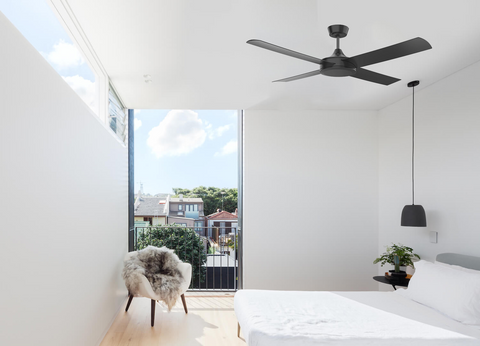 Airborne Breeze DC Ceiling Fan Black | Buy from The Lighting Superstore