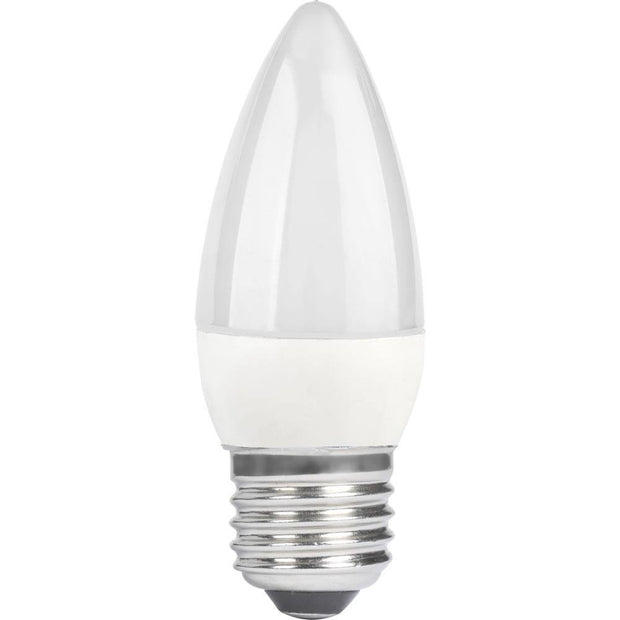 6w Edison Screw (ES/E27) Cool White Candle Dimmable - Lighting Superstore