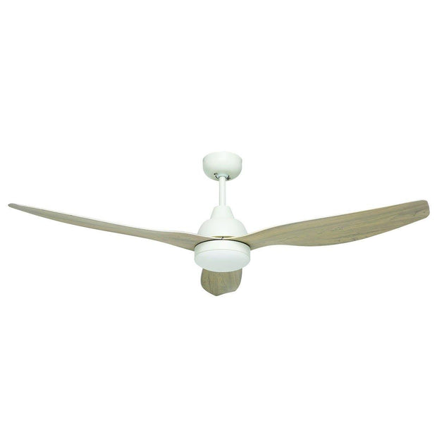 Bahama Smart 52 DC Ceiling Fan Whitewash - Lighting Superstore