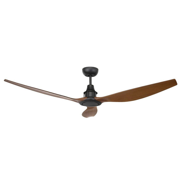 Concorde II 58 DC Ceiling Fan Black & Mahogany - Lighting Superstore