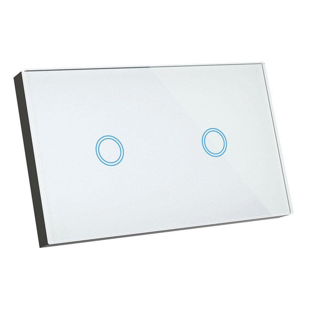 2 Gang Smart Elite Glass Wall Switch - Lighting Superstore