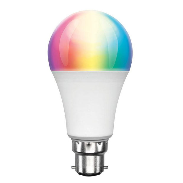 Smart RGB B22 9w LED Dimmable Globe - Lighting Superstore