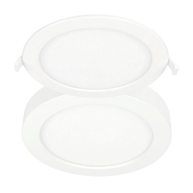 Duet 24w LED Downlight Surface Mount or Recessed - Lighting Superstore