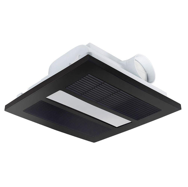 Solace 4 in 1 Heat, Light, Exhaust - Black - Lighting Superstore