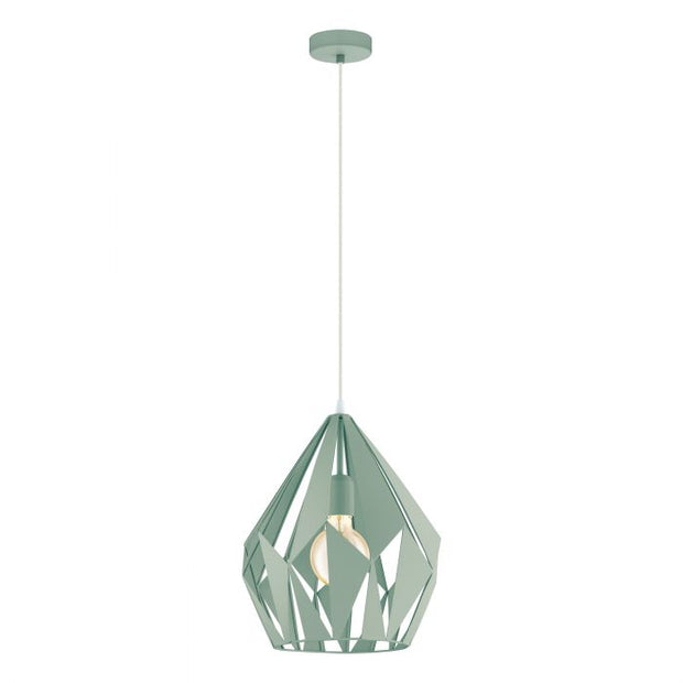 Carlton Pendant Light Pastel Green