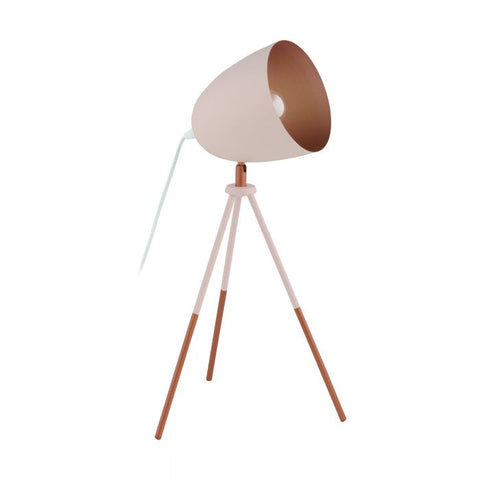 Chester Table Lamp Pastel Pink