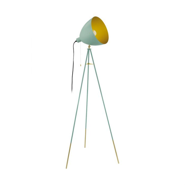 Chester Floor Lamp Pastel Green