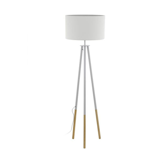 Bidford White Floor Lamp