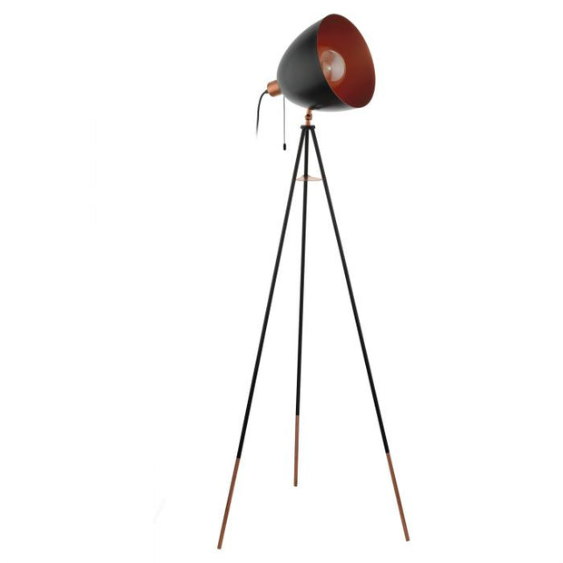 Chester Floor Lamp Black