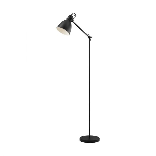 Priddy Floor Lamp Black