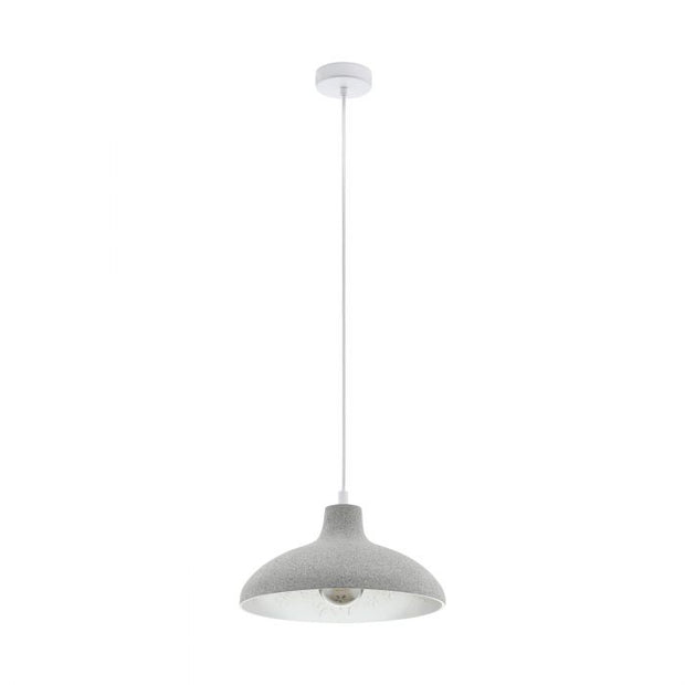 Barrowby Grey Pendant Light