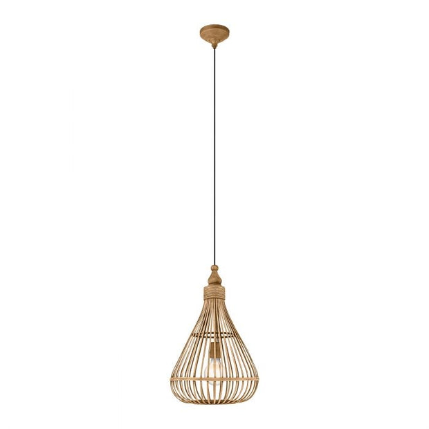 Amsfield Wicker Bell Pendant