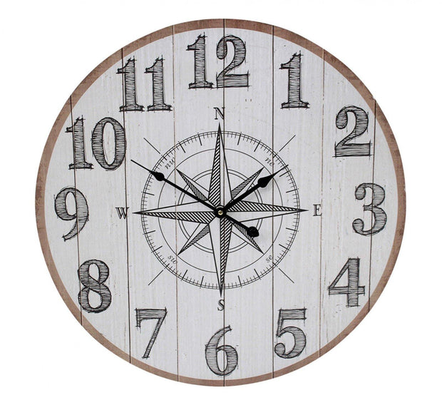 Compass Clock - Lighting Superstore