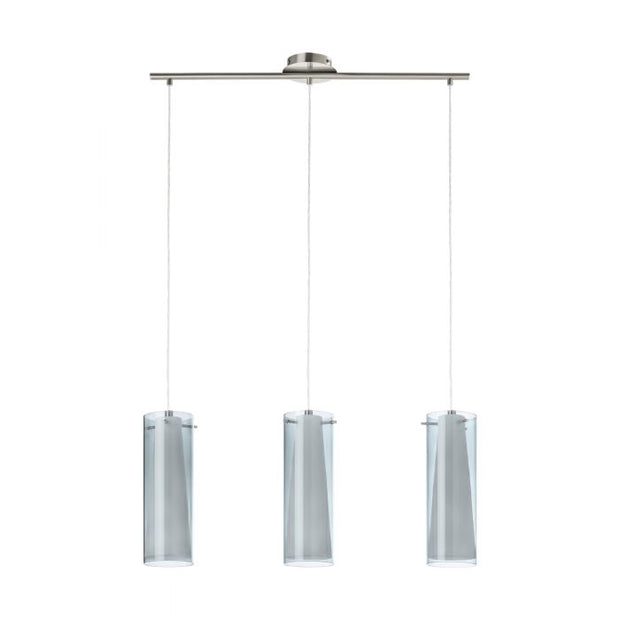 Pinto Pendant 3 Light Smoke