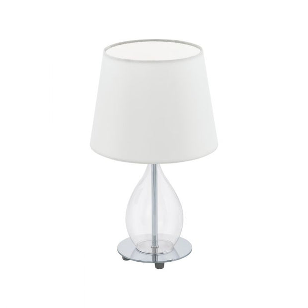 Rineiro Table Lamp Clear and White