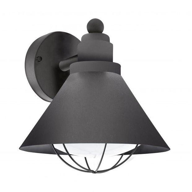Barrosela Black Exterior Wall Light
