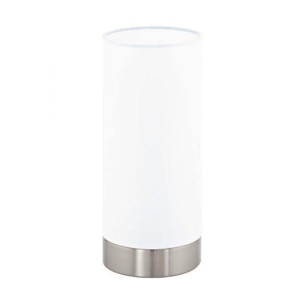 Pasteri Touch Lamp Satin and White