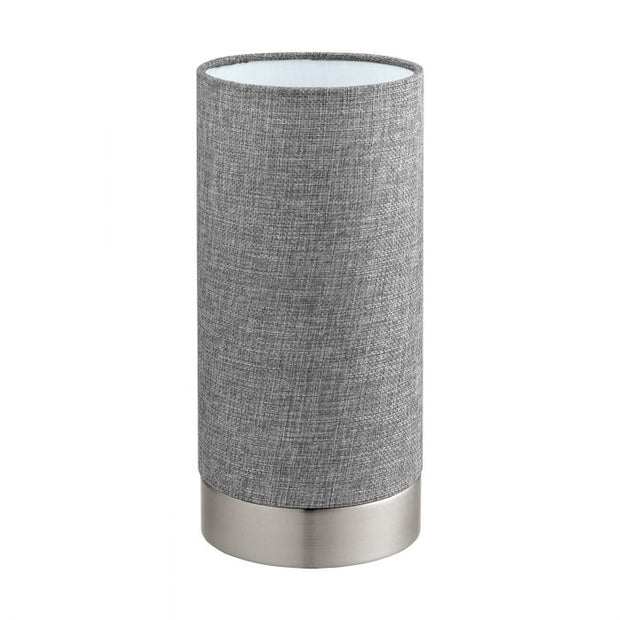 Pasteri Touch Lamp Satin and Grey