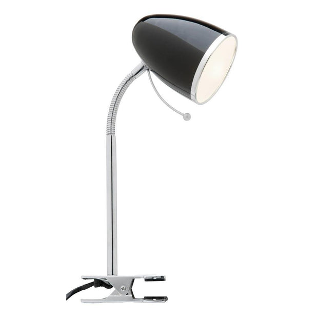 Sara Clamp Lamp - Black