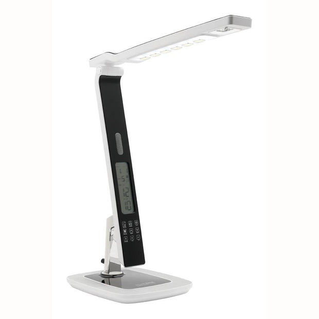 Tempo LED Desk Lamp with Alarm Clock