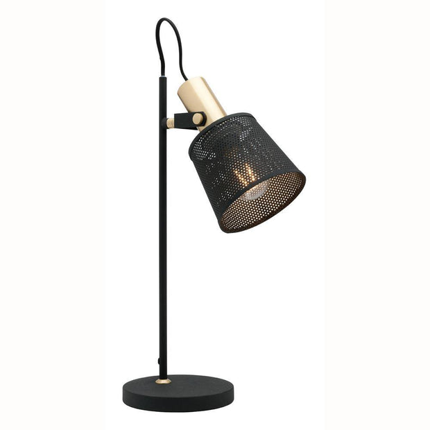 Arizona Table Lamp Black and Brass - Lighting Superstore