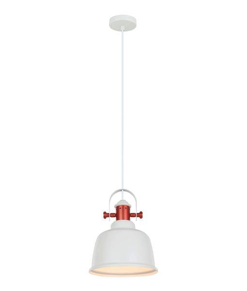 Alta Pendant Light White and Copper - Lighting Superstore