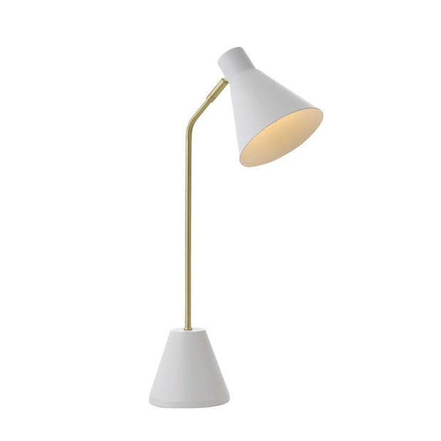 Ambia Table Lamp White - Lighting Superstore
