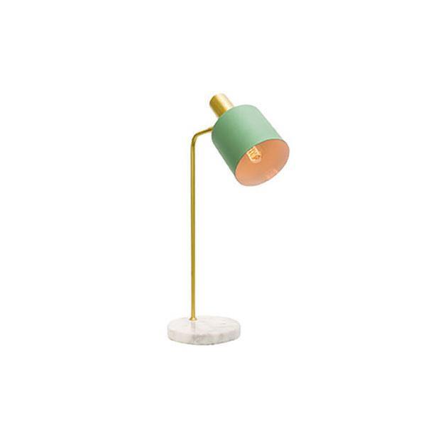 Addison Table Lamp Jade and Brass - Lighting Superstore