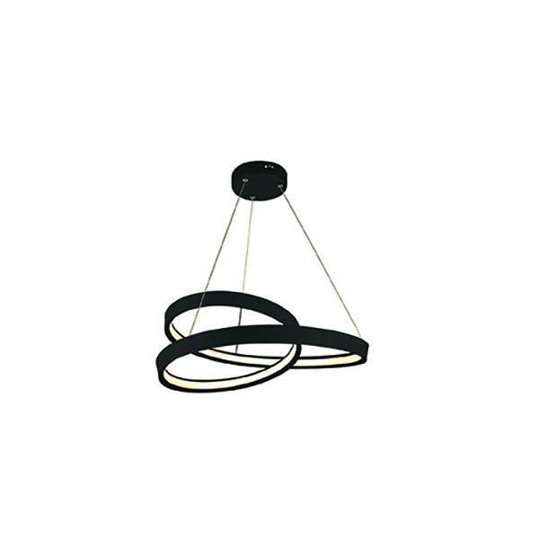 Armstrong LED Pendant Light Black - Small - Lighting Superstore