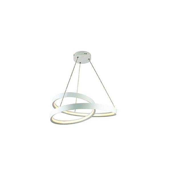 Armstrong LED Pendant Light White - Small - Lighting Superstore
