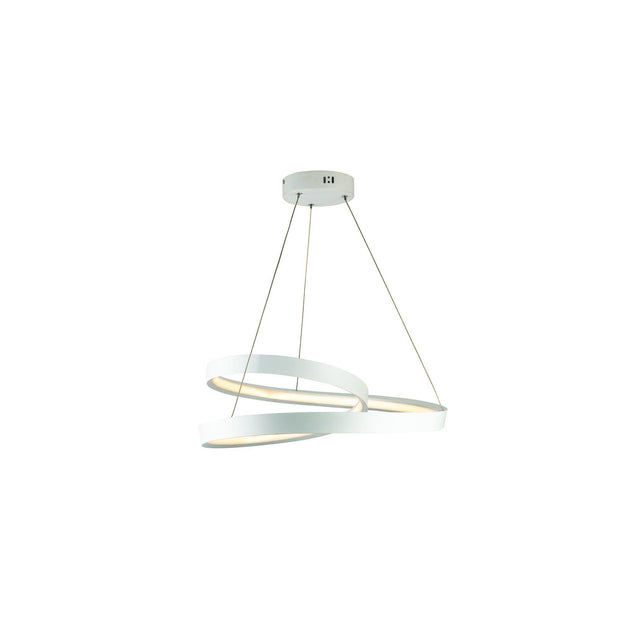 Armstrong LED Pendant Light White - Large - Lighting Superstore