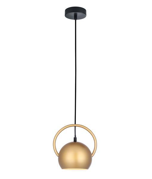 Bella Pendant Light Gold with Gold Inside - Lighting Superstore