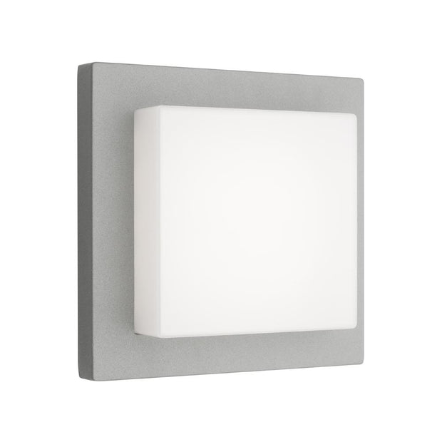 Bodo LED Exerior Wall Light Silver