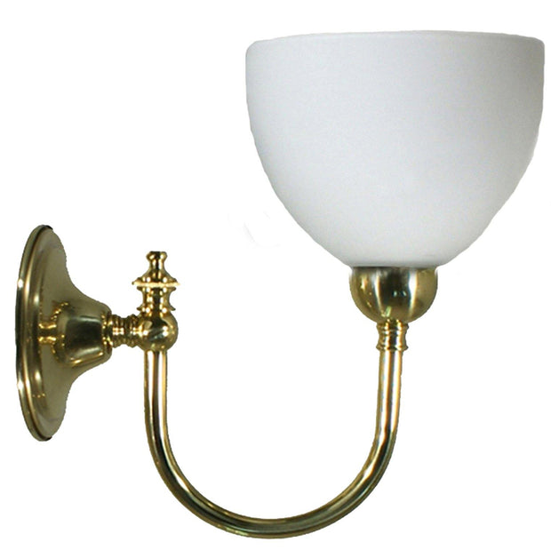 Loxton Wall Light Brass Round