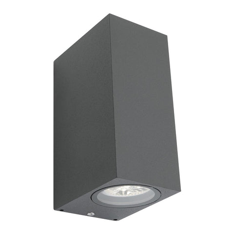 Brugge Exterior Wall Light Charcoal