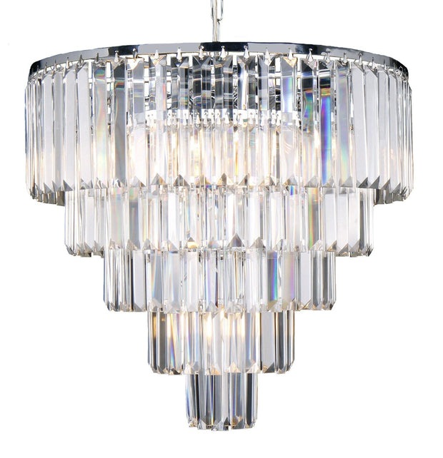 Celestial 10 Light 5 Tier Pendant - Lighting Superstore