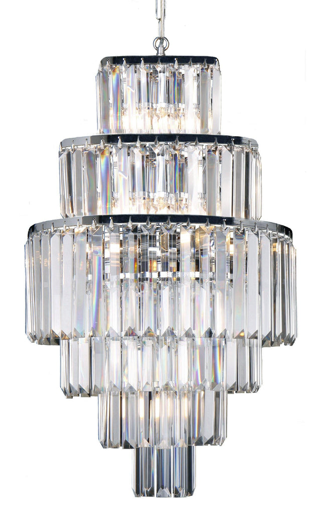 Celestial 9 Light 6 Teir Pendant - Lighting Superstore