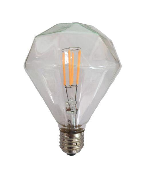 3.5w Edison Screw (ES) Carbon Filament LED Diamond Warm White - Lighting Superstore