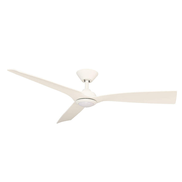 Trinidad III 52 DC Ceiling Fan White - LED Light - Lighting Superstore