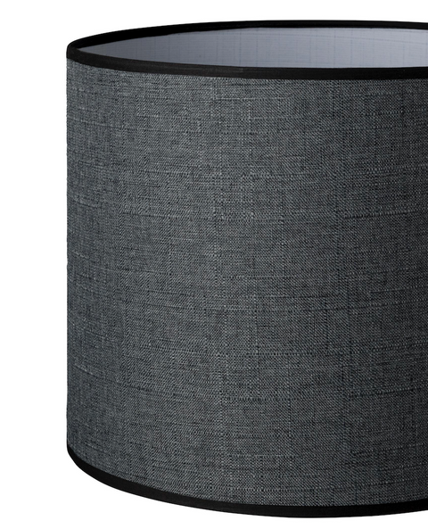 11.16.10 Tapered Lamp Shade - C2 Charcoal - Lighting Superstore