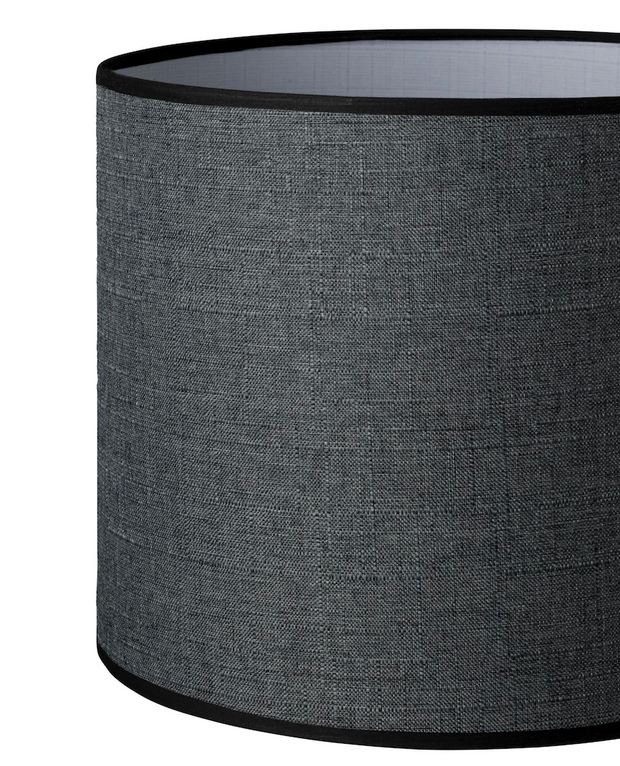 13.13.10 Cylinder Lamp Shade - C2 Charcoal - Lighting Superstore