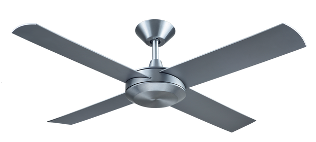 Concept 3 52 Ceiling Fan Brushed Aluminium - Lighting Superstore